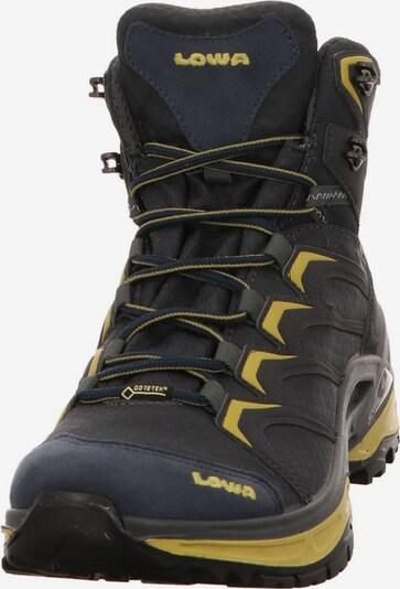 LOWA Boots in de kleur Navy / Mosterd / Donkergrijs, Productweergave