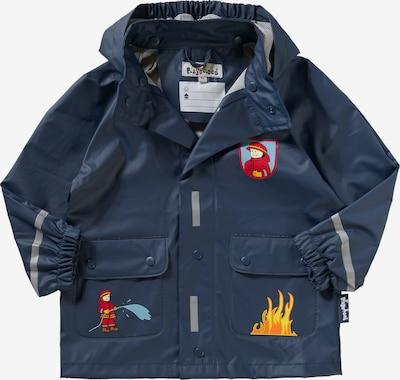 PLAYSHOES Regenjacke 'Feuerwehr' in dunkelblau, Produktansicht