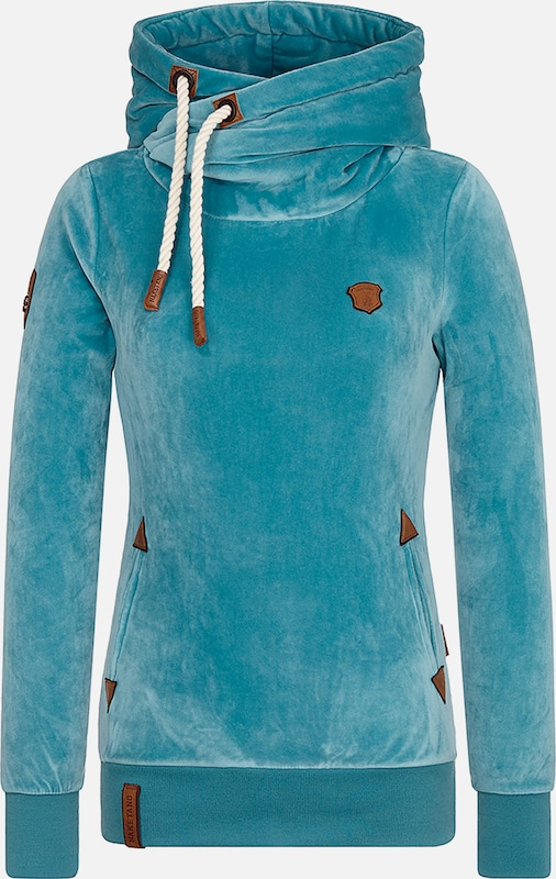 naketano Hoody 'Darth Mack' in aqua, Produktansicht