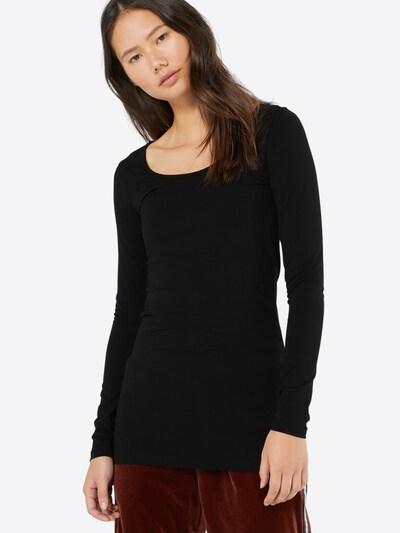VERO MODA Koszulka 'VMMaxi My' w kolorze czarnym: Widok z przodu