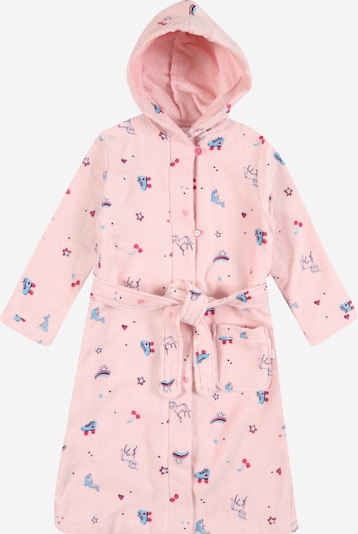 SCHIESSER Bademantel in blau / rosa, Produktansicht