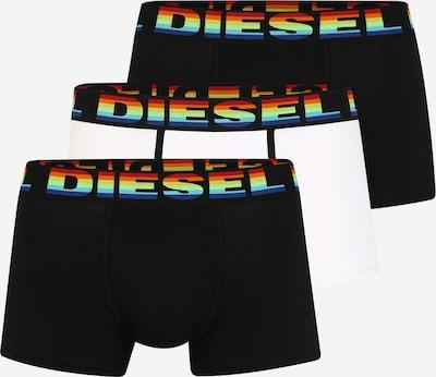 DIESEL Boxershorts in schwarz / weiß, Produktansicht