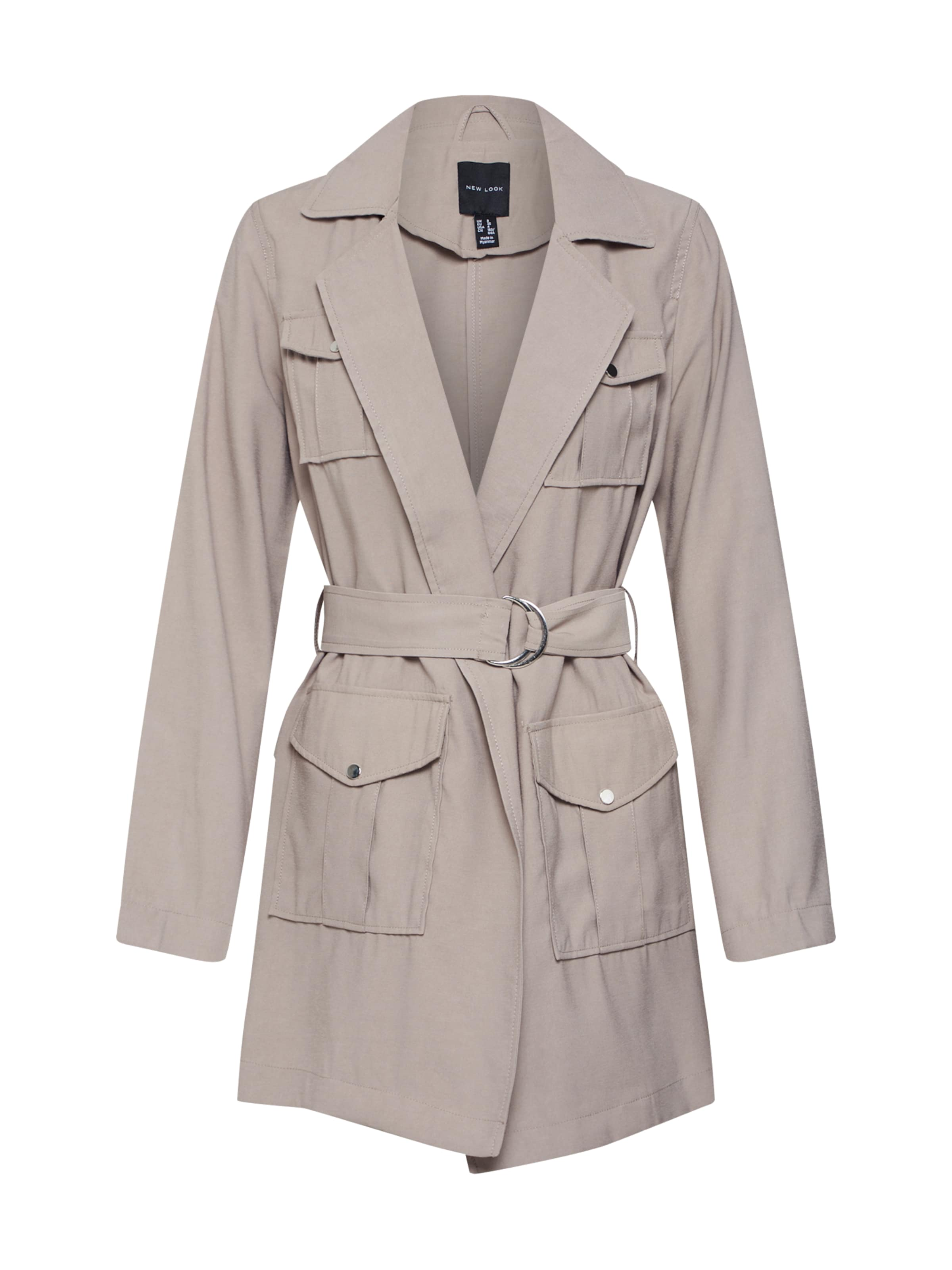 LookVeste 'safari' In Mi New saison Clair Beige N0XnwP8kO
