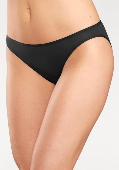 LASCANA Bikinislip in schwarz: Frontalansicht