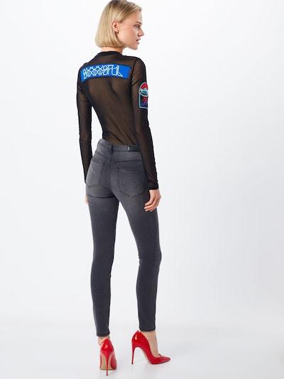 VERO MODA Jeans 'Tanya' in de kleur Donkergrijs: Achteraanzicht