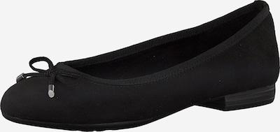 MARCO TOZZI Balerina in schwarz, Produktansicht