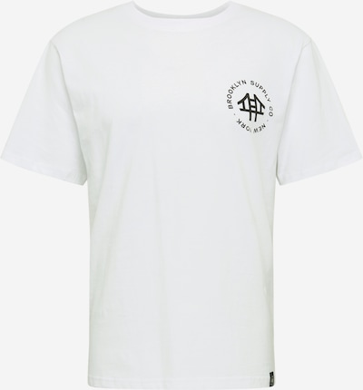 Marškinėliai iš Brooklyn Supply Co. , spalva - juoda / balta, Prekių apžvalga