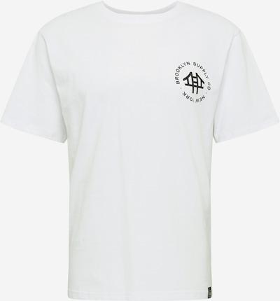 Brooklyn Supply Co. Tričko - černá / bílá, Produkt