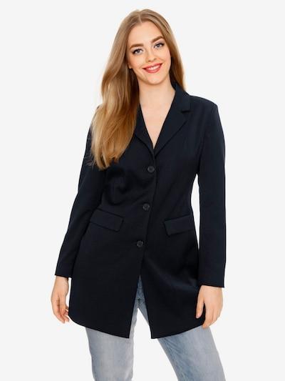 heine Longblazer in schwarz, Modelansicht