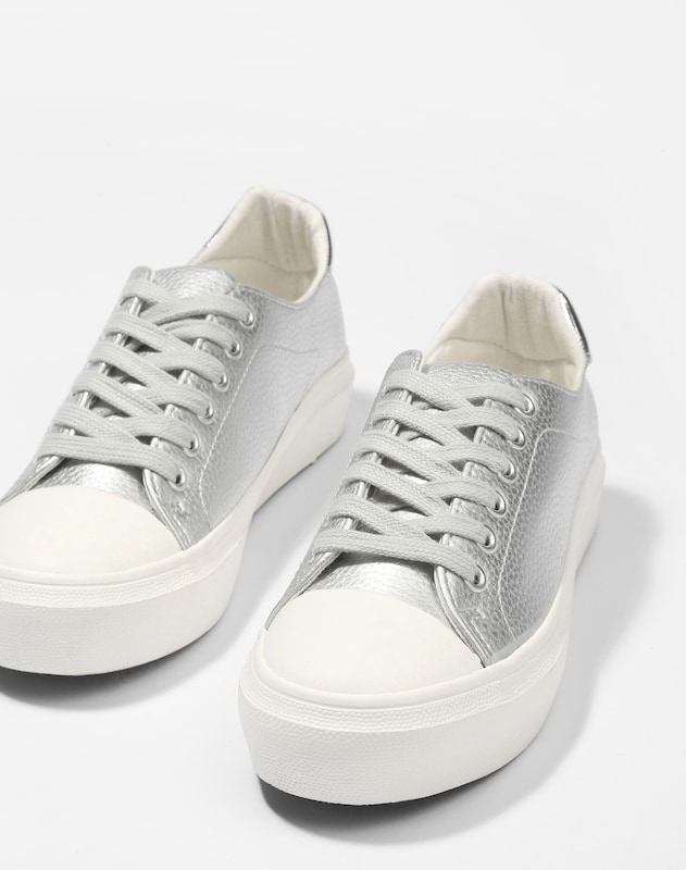 emily and eve Metallic Sneaker 'Lea'