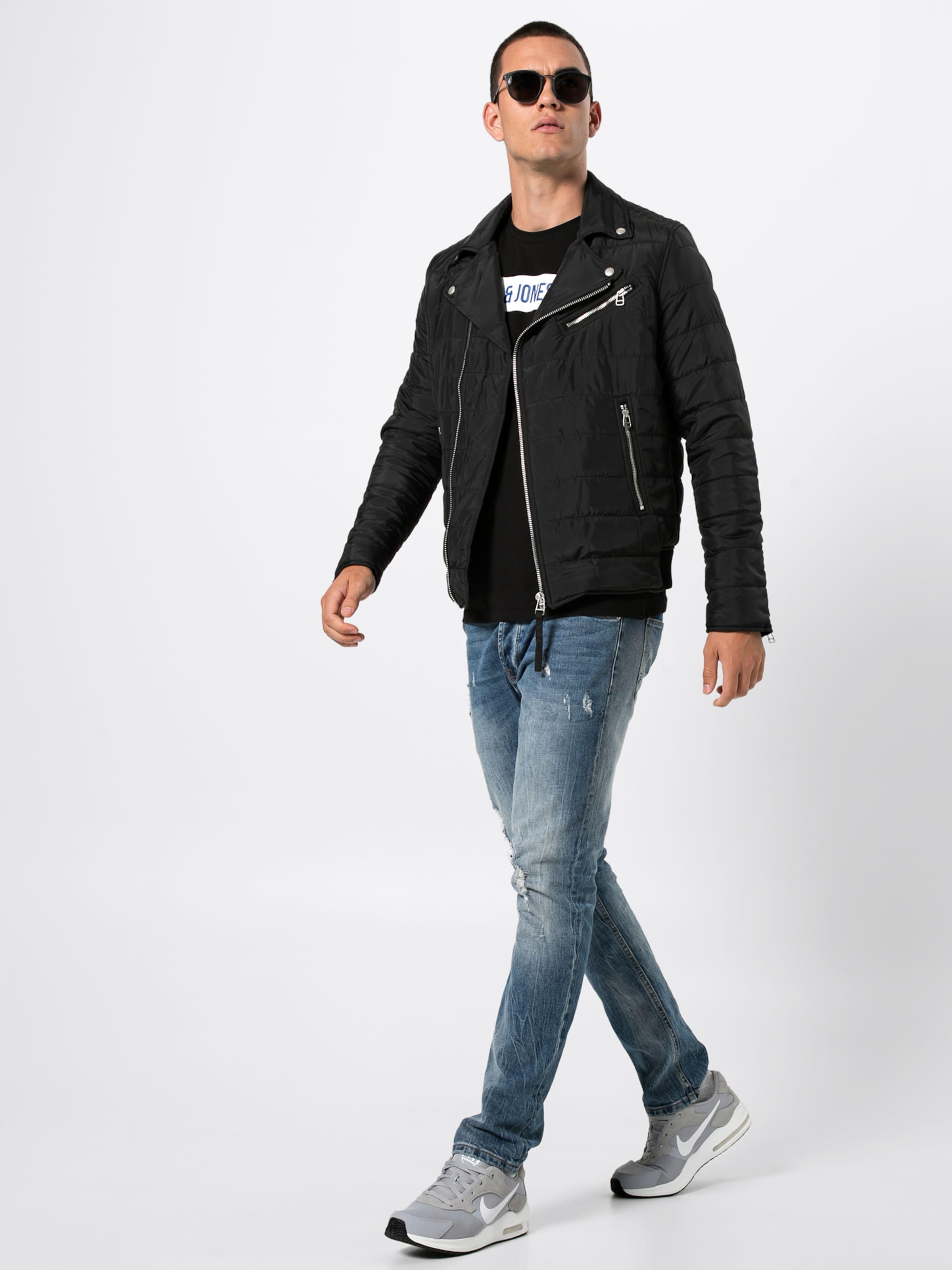 Jacke In Jacket' Schwarz Biker 'jprsoul Jackamp; Jones LUqpSVGzM