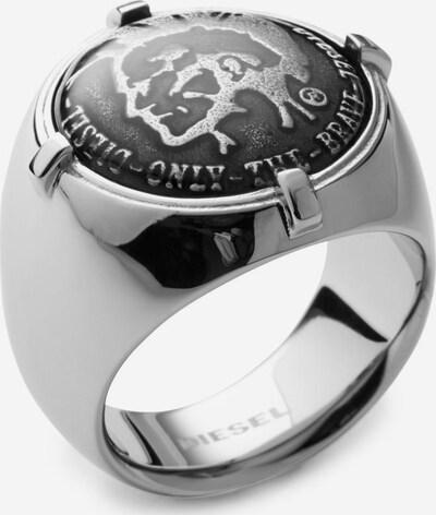DIESEL Ring in grau, Produktansicht