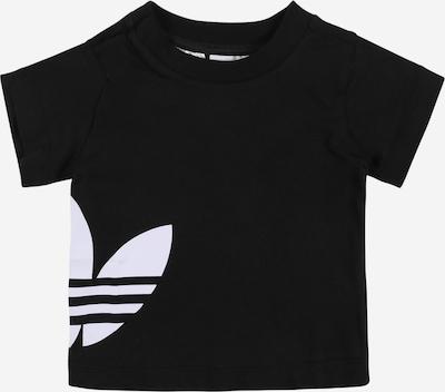 ADIDAS ORIGINALS Tričko 'BIG TREFOIL' - černá / bílá, Produkt