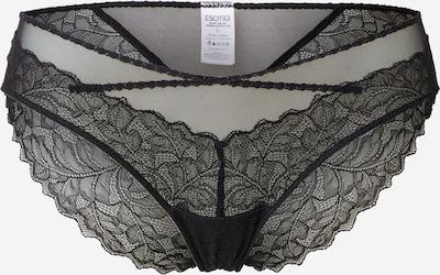ESOTIQ Slip 'GLOWING' in de kleur Zwart, Productweergave