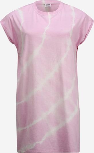 Urban Classics Curvy Kleid 'Tie Dye' in pink, Produktansicht