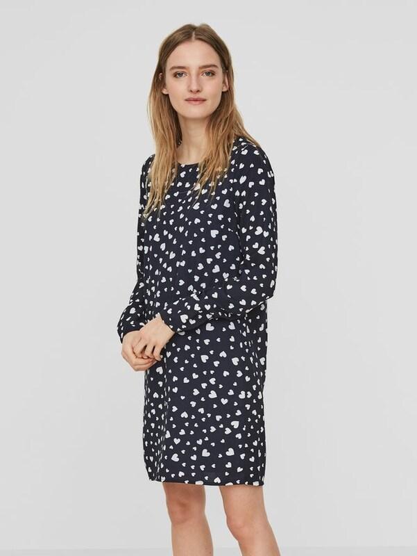 VERO MODA Feminines Kleid mit langen Ärmeln