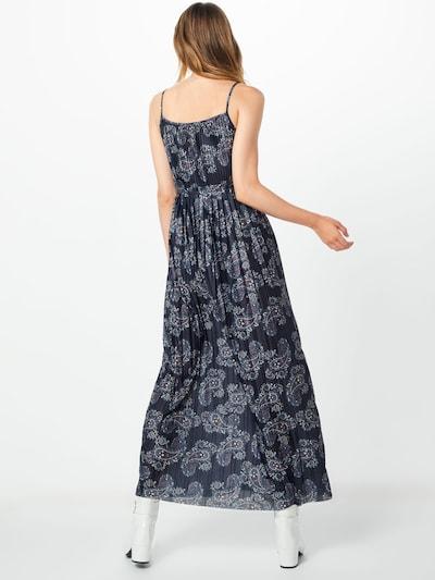 Suknelė 'Drama' iš ABOUT YOU , spalva - mėlyna / mišrios spalvos: Vaizdas iš galinės pusės