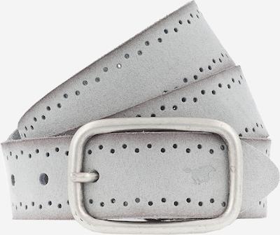 MUSTANG Ledergürtel in hellgrau, Produktansicht