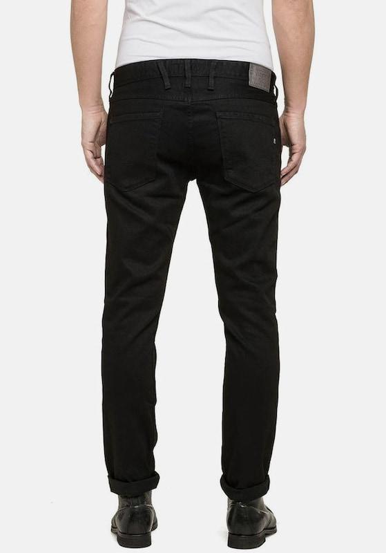 Slim fit Replay jeans Schwarz 'anbass' fOdxHYz