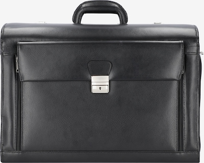 Alassio Pilot Case in Black, Item view