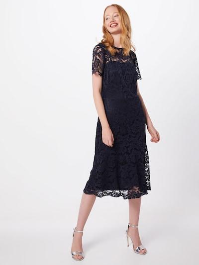 Lauren Ralph Lauren Koktejl obleka 'LOKI-SHORT SLEEVE-DAY DRESS' | mornarska barva: Frontalni pogled