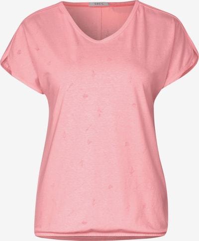 CECIL T-Shirt in rosa, Produktansicht
