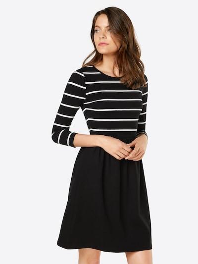 ONLY Kleid in schwarz / weiß, Modelansicht