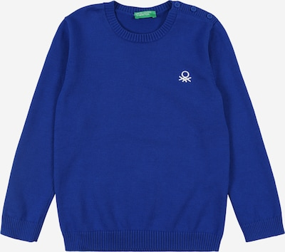 UNITED COLORS OF BENETTON Sweatshirt in blau / weiß, Produktansicht