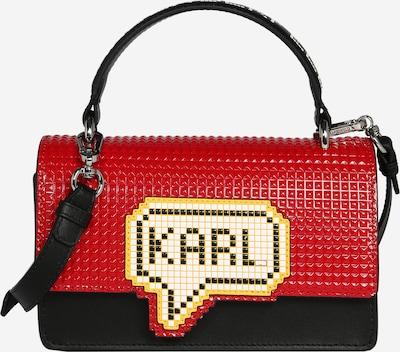 Karl Lagerfeld Sac à bandoulière 'k/pixel' en rouge / noir, Vue avec produit