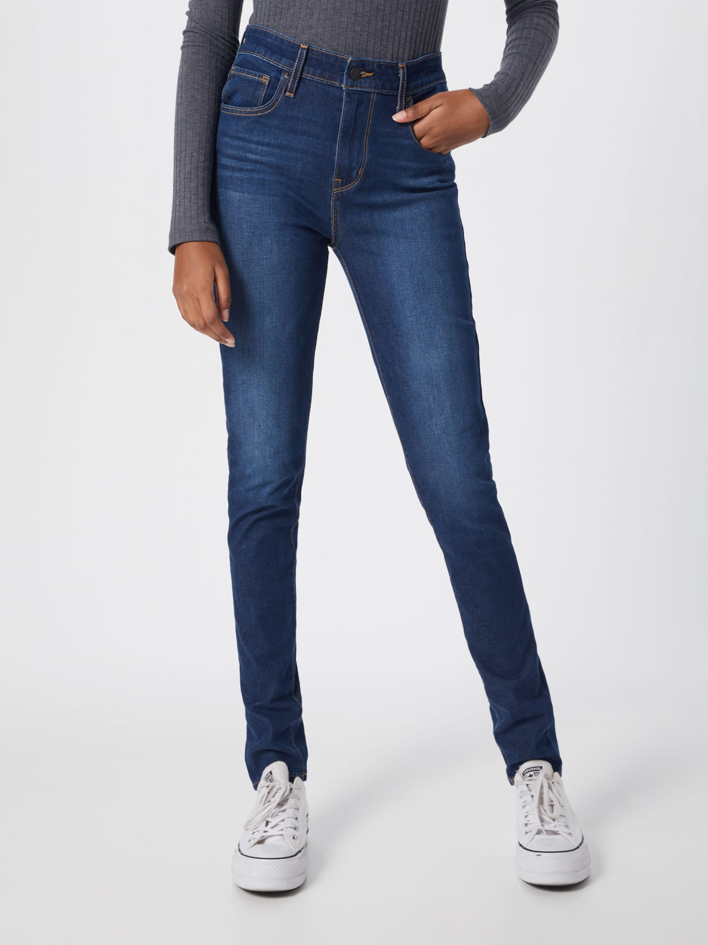 high Blue In Rise' Levi's '721� Denim Jeans ukXiTOPwZ
