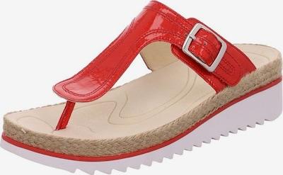 GABOR Pantoletten in rot, Produktansicht
