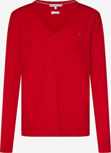 TOMMY HILFIGER Pullover in rot, Produktansicht