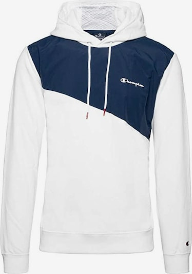 Champion Authentic Athletic Apparel Sweatshirt in dunkelblau / weiß, Produktansicht