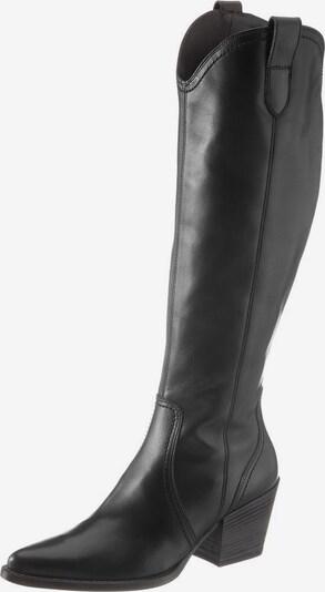 Paul Green Bottes de cowboy en noir, Vue avec produit