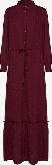 Another Label Robe-chemise 'Maley' en lie de vin, Vue avec produit