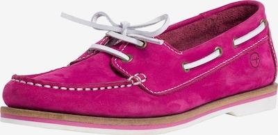 TAMARIS Mocassins in de kleur Pitaja roze / Wit, Productweergave