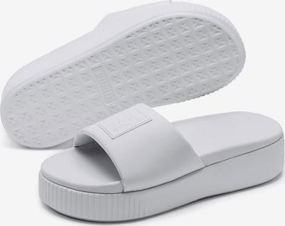 PUMA Schuhe 'Slide' in weiß, Produktansicht