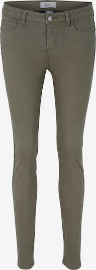 heine Jeans in de kleur Olijfgroen, Productweergave