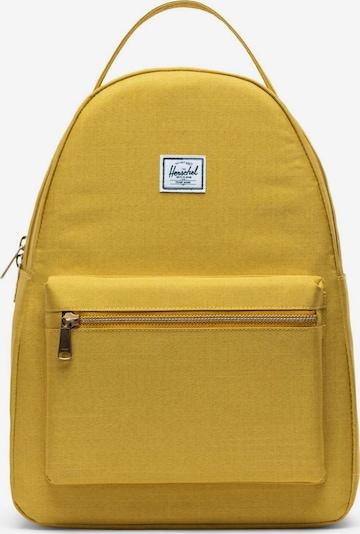 Herschel Rucksack 'Nova' in gelb, Produktansicht
