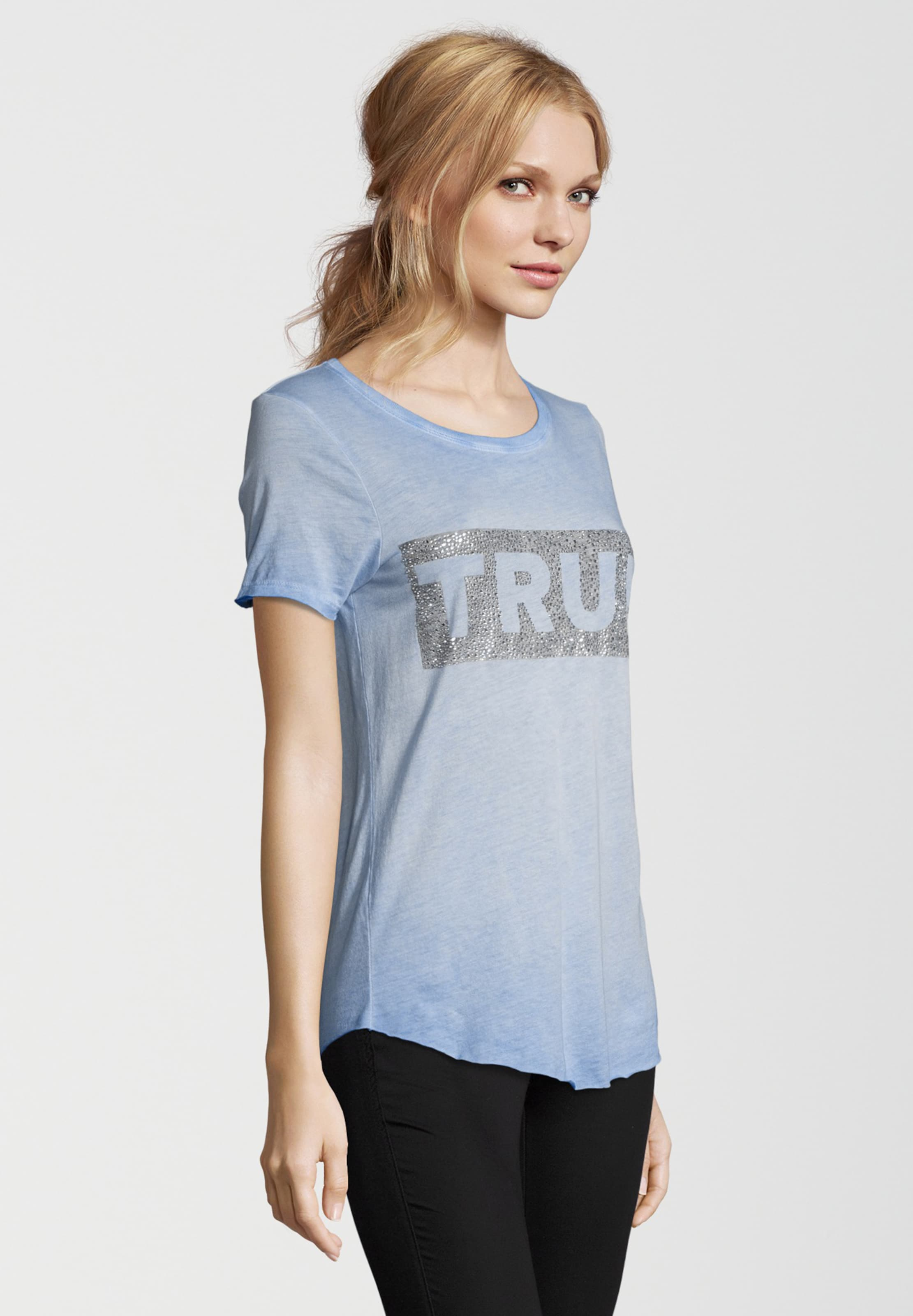 True Religion T-Shirt BOXY CREW Freies Verschiffen Wirklich Manchester Großen Verkauf Verkauf Online XETEJzX8