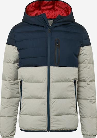 JACK & JONES Prehodna jakna 'OREGON'   temno modra / svetlo siva barva, Prikaz izdelka