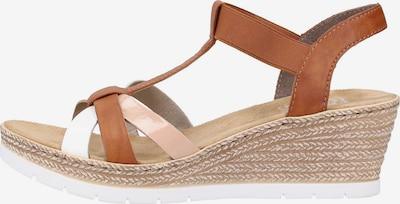 RIEKER Sandalen in mischfarben, Produktansicht