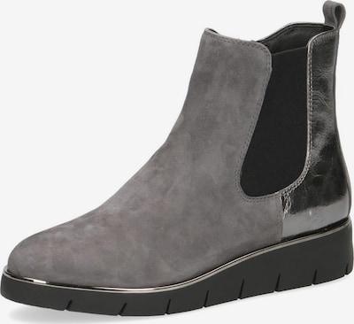 CAPRICE Chelsea Boot in grau / silber, Produktansicht