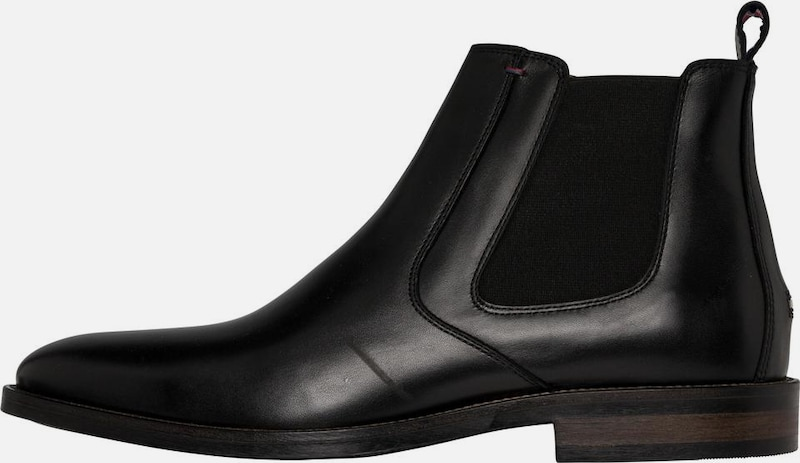 TOMMY HILFIGER Tommy Hilfiger Stiefeletten »ESSENTIAL LEATHER CHELSEA BOOT«