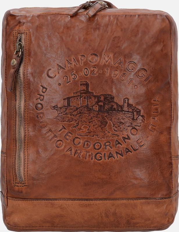 Campomaggi Traditional City Rucksack aus Leder 35 cm