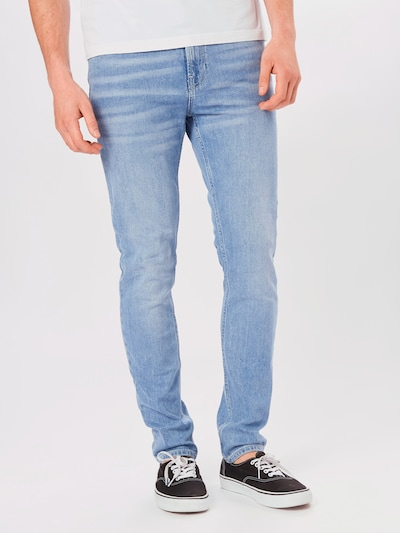 SCOTCH & SODA Jeans 'Skim' in blue denim, Modelansicht
