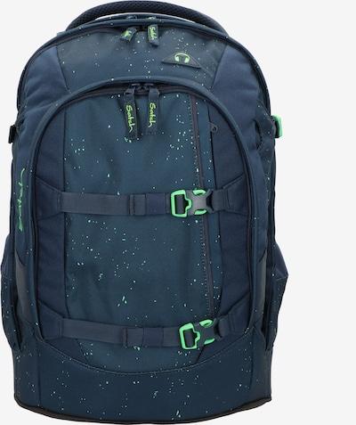Satch Rugzak in de kleur Donkerblauw / Groen, Productweergave