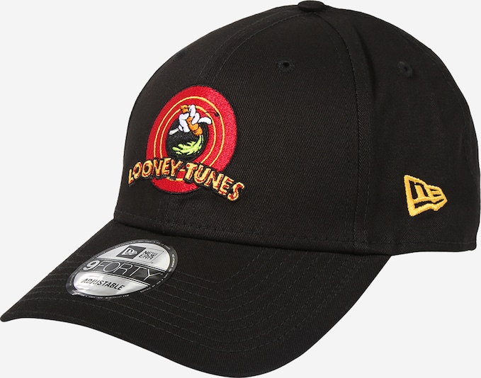 NEW ERA Cap 'LOONEY TUNES CHASE 9FORTY' in rot / schwarz, Produktansicht