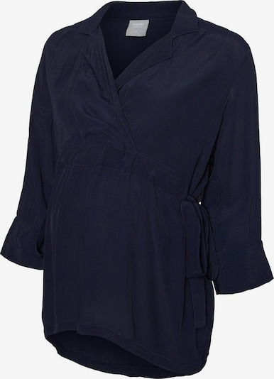 MAMALICIOUS Bluse in navy, Produktansicht