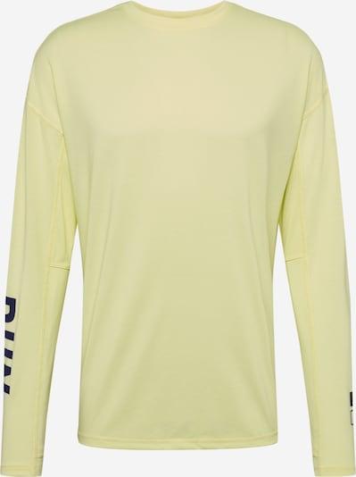 REEBOK Functioneel shirt in de kleur Lichtgeel / Zwart, Productweergave